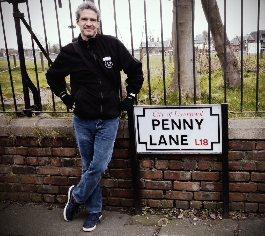 Mike Lindup at Penny Lane